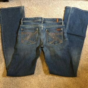 7 For All Mankind bedazzled Jeans